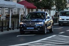 Poland CD (China) - BMW X3 F25 2014 (PrincepsLS) Tags: poland polish diplomatic license plate warsaw spotting 076 china bmw x3 f25