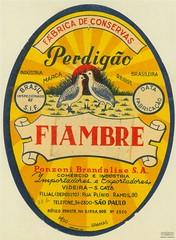 Rótulo de Fiambre Perdigão, 1952 (Arquivo Nacional do Brasil) Tags: rótulo marca marcas arquivonacional arquivonacionaldobrasil nationalarchivesofbrazil nationalarchives história