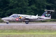 1125 / Austrian Air Force / Saab 105Oe (Charles Cunliffe) Tags: canon7dmkii aviation montdemarsanairbase lfbm austrianairforce österreichischeluftstreitkräfte saab105 saab105oe 1125