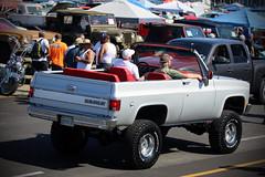 SoCal Style Blazer (Pomona Swap Meet) Tags: pomonafavorites pomonaswapmeet classiccars classic vintage carshow carshowphotography chevy chevrolet chevyblazer blazer chevytruck k5blazer