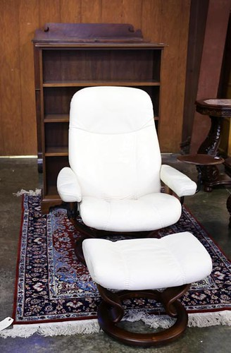 Stressless Chair with Ottoman ($896.00)