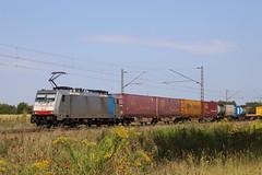LINEAS 186 451-1 Containerzug, Graben (michaelgoll777) Tags: lineas br186 railpool traxx