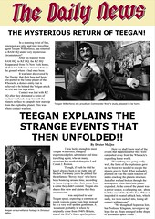 Daily News - Teegans Return 001 (Blondeactionman) Tags: bamhq action man teegan wolberforce charles chas anderson one six scale playscale