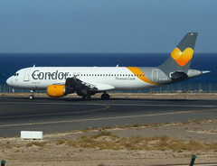 D-AICA ready for departure from RWY 03 (Ibirdball) Tags: thomascook airbus a320212 daica lanzarotearrecife ace gcrr