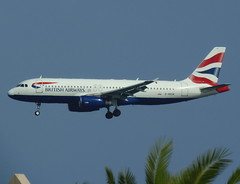 G-MEDK on final approach for RWY 03 (Ibirdball) Tags: britishairways airbus a320232 gmedk lanzarotearrecife ace gcrr