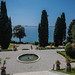 The gardens of Miramare castle