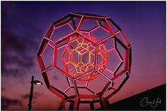 Digital Geometry (cjhall.nz) Tags: 35mm x100f fujifilm scupture art travel america usa california sanfrancisco dusk sunset modernart geometricshape