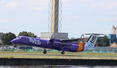 G-JEDR Bombardier Dash 8 Q 402 Flybe (lee_klass) Tags: gjedr bombardierdash8q400 dhc8402 dash8q400 dh8d dasheight bombardier flybe bee be be1354 bee64c turboprop propliner twinturboprop regionalairliner airliner aviationphotography aviation aviationspotter aviationawards aeroplane aircraft aircraftphotography aircraftspotting canonaviation canon canoneos750d canonef75300mmf456 londoncityairport eglc lcy cityairport docklands london unitedkingdom england bhd belfast egac belfastcitygeorgebestairport plane planespotting travel airtransport airtravel transport airplane vehicle