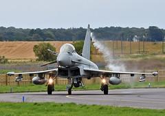 ZK334 (np1991) Tags: royal air force raf lossiemouth lossie moray scotland united kingdom uk nikon digital slr dslr d7200 camera nikor 70200mm vibration reduction vr f28 lens aviation planes aircraft eurofighter typhoon fgr4