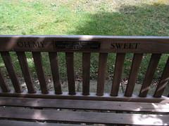 IMG_6133 'oh my sweet ' <3 (belight7) Tags: bench stoke poges memorial garden bucks uk summer england stokepoges