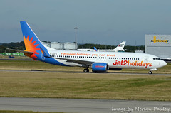 Jet2 738 g-gdfw (merlyn.pauley) Tags: boeing 737800 737800wl 737 airliner airport stansted stanstedairport jet2 ggdfw gjzhp