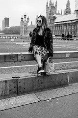 Sitting at Parliament (daveseargeant) Tags: london westminster house parliament leica x typ 113 street monochrome black white blackwhite candid