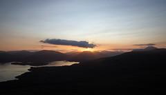 Loch Lomond Sundown (Russell-Davies) Tags: conichill lochlomond sunset luss benlomond highlands uk scotland clouds landscape munro sunlight canon 6dmkii loch