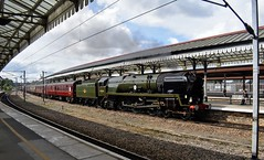 35018 (Chris Strange) Tags: york steam train railway scarborough spa express wcrc railtour british india line bil 35018 merchant navy station