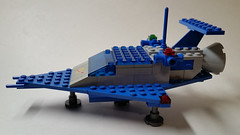 LL 918 Flipped Colors (Constender) Tags: lego classic space ll918 ll 918 spaceship