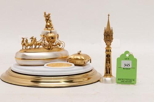 """Olszewski Disney Showcase Collection """"Snow White's Wish Come True"""" 2 pc. set includes dome display. ($588.00)"""