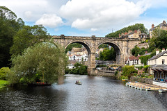 241/365 Knaresborough (belincs) Tags: uk oneaday august viaduct 365 knaresborough northyorkshire 2019 rivernidd day241365 3652019 365the2019edition 29aug19