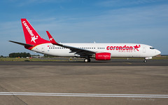 CND_B73H_TCCOE_BRU_AUG2019 (Yannick VP) Tags: civil commercial passenger pax transport aircraft airplane aeroplane jet jetliner airliner cnd corendon airlines boeing b737 nextgen nextgeneration ng 737800 wgl winglets b738 b73h tccoe airside taxi taxiway twy inn inner brussels airport bru ebbr belgium be europe eu august 2019 aviation photography planespotting airplanespotting