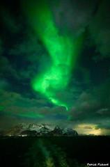 Aurore Boréale aux Lofoten (ppichard) Tags: aurore boréale hurtigruten lofoten norvege