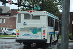 Norwalk Transit District (WHEELS) 2004 Orion VII 07.502 #164 on Route 10 (MTA3306) Tags: