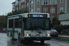 Norwalk Transit District (WHEELS) 2015 Gillig Advantage 29' #237 on Route 1 (MTA3306) Tags: