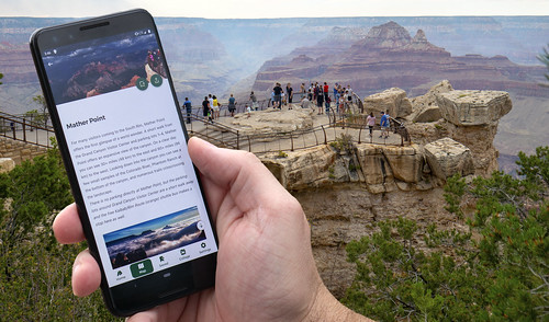 Grand Canyon National Park Launches Free Mobile Park App - August 29, 2019