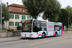 2019-08-27, TL, Cheseaux (Fototak) Tags: bus autobus mercedes citaro lausanne tl switzerland jojeunesse2020 ligne415 331