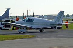 N5667W   Piper PA-28-160 Cherokee B [28-780] Lakeland-Linder~N 16/04/2010 (raybarber2) Tags: 28780 airportdata cn28780 filed flickr klal n5667w planebase raybarber single usacivil