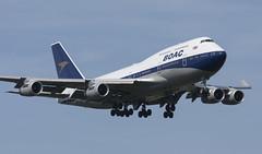G-BYGC (Lucas31 Transport Photography) Tags: lhr heathrow aviation planes aircraft boeing b747 jumbo ba100 boac gbygc