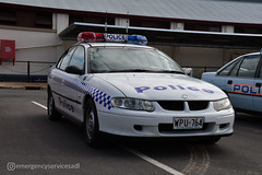 South Australia Police | Holden VX Commodore (emergencyservicesadl) Tags: police cops cop policecar holden ford mitsubishi sapol southaustraliapolice adelaide thebarton southaustralia