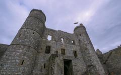 Harlech Castle, Gwynedd, Wales (joanjbberry) Tags: fortification harlechcastle harlech castle gwynedd wales northwales historical history historic seaside fujifilmxt3 fujifilm fugifilm structures