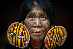 Chin Tribe Lady (tehhanlin) Tags: anandatemple bagan burmese chinstate htilominlotemple mindatdistrict monks myanmar pagodas rangoon shwedagon shwesandaw shwezigon tatooedface thatbyinnyutemple tribes yangon people portrait portraits travel culture tradition sony happyplanet asiafavorites