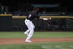 Mejia starting a double play (Minda Haas Kuhlmann) Tags: sports baseball milb minorleaguebaseball pacificcoastleague omahastormchasers nebraska omaha papillion sarpycounty outdoors omahasizzle erickmejia