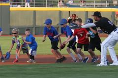 Annnnd GO! (Minda Haas Kuhlmann) Tags: sports baseball milb minorleaguebaseball pacificcoastleague omahastormchasers nebraska omaha papillion sarpycounty outdoors omahasizzle erickmejia fans onfieldpromotions