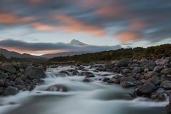 Smooth & Soothing (Antony Eley) Tags: landscape nature river rapids mountain sunrise taranaki water long exposure