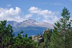 Incredible Long's Peak (Pejasar) Tags: longspeak 14 000footer estesparkview rockymountainnationalpark colorado 2016 spectacular majesty nature