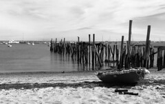 Old pier (Chaz Cheadle) Tags: nikond80 d80 boats pier dock provincetown capecod