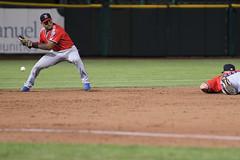 Slipped on out (Minda Haas Kuhlmann) Tags: sports baseball milb minorleaguebaseball pacificcoastleague omahastormchasers nebraska omaha papillion sarpycounty outdoors omahasizzle nashvillesounds