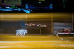 Deep sleep (Karthikeyan.Chinnathamby) Tags: ka karthikeyan chinnathamby chinna canon canon5d canon5dmarkiii travel street streetlife streetphotography kolkata india cwc cwc742 chennaiweekendclickers yellow taxi sleep workers streets walk 24105 longexposure motion