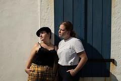 Amaïlys and Gwenaëlle. (Nicolas Fourny photographie) Tags: canon 6d models beauty fashion lifestyle 50mm portrait portraiture womanportrait girlportrait summer naturallight shadows friends duo