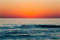 Rising sun (Nicola Pezzoli) Tags: formentera isola island spain sea mediterraneo mare holiday vacanze baleari baleares nature natura illetes sunrise alba horizon orange blue water sky cielo beach