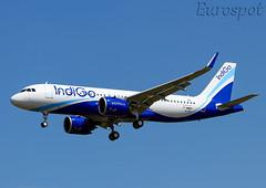 F-WWDP Airbus A320 Neo Indigo (@Eurospot) Tags: fwwdp vtijp airbus a320 neo 9155 indigo toulouse blagnac