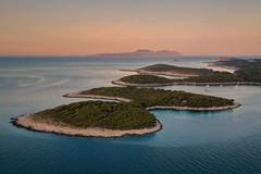 Paklinski Islands (Andrew G Robertson) Tags: paklinski islands adriatic croatia carpe diem beach hvar drone dji mavic pro dalmatia