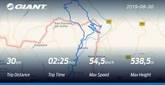 Ride Control - Map (Cristiano De March) Tags: giant mappe ebike percorsi gpx cristianodemarch