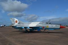Lancer at RIAT (Gerry Rudman) Tags: mikoyan mig21 lancer romanian air force riat raf fairford 2019 6824