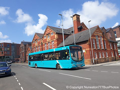 CX07CTU 2647 Arriva Buses Wales in Chester (Nuneaton777 Bus Photos) Tags: arriva buses wales wright pulsar cx07ctu 2647 chester