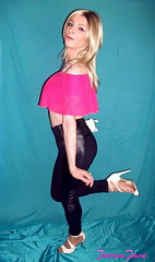 Friday Flamingo (jessicajane9) Tags: tg crossdress tranny xdress tv m2f trans crossdressing femme travesti cd tgurl femboi transgender crossdressed trap feminised tgirl crossdresser transvestite feminization