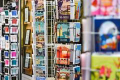 Cartes postales de la Côte Vermeille (Jorge Franganillo) Tags: pyrénéesorientales occitanie france francia postales postcards cartespostales stand affichage turismo tourism perpignan perpiñán collioure baiedepaulilles