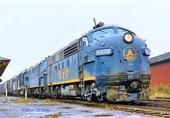 B&O 4472                     6-72 (C E Turley) Tags: trains railroads railways bo f7 baltimoreandohio brp