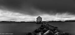 Twilight zone i Hafrsfjord (FotoRoar2013) Tags: fotoroar2013 2019 canon 5dmk3 2470 bw coast sea seascape sjø stavanger landscape longexposure